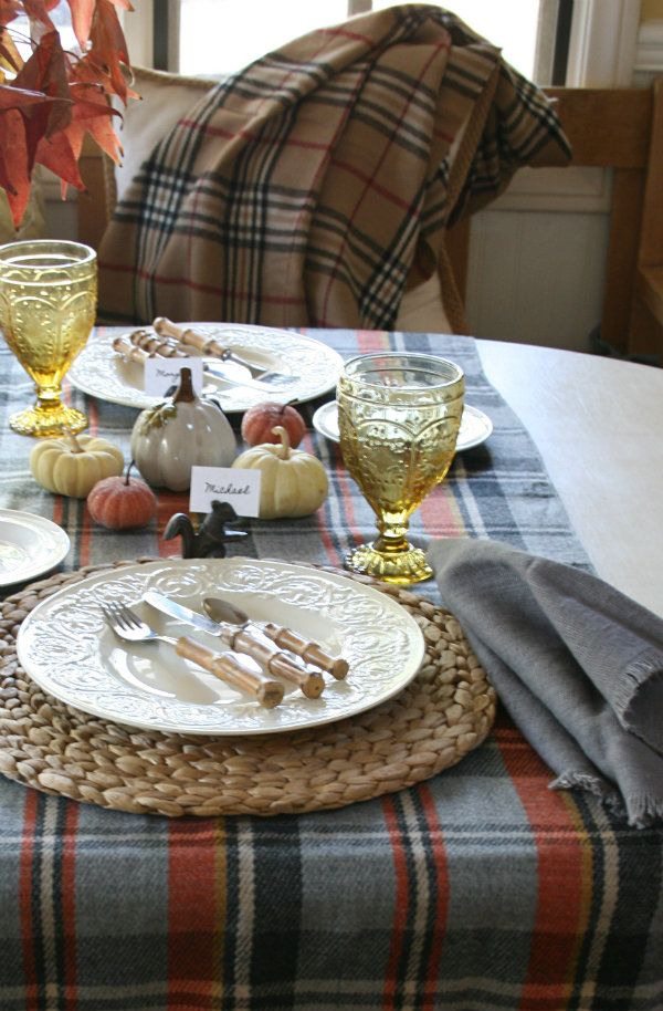 373 best Thanksgiving Tables images on Pinterest