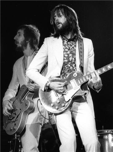 Pete Townshend & Eric Clapton, Rainbow Theater, London, 1973