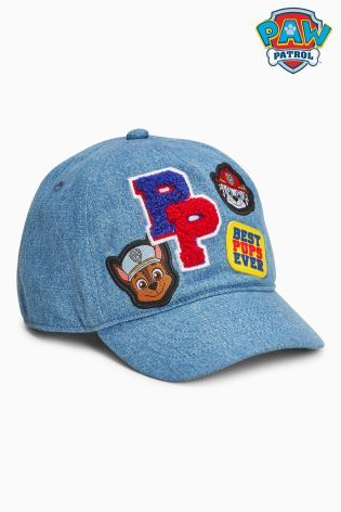 Buy Blue Paw Patrol Cap (Younger) from the Next UK online shop  ff0d62165fed