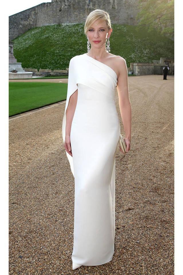 Cate Blanchett totally blew us away in sleek Ralph Lauren at last night's The Royal Marsden Cancer Charity gala.