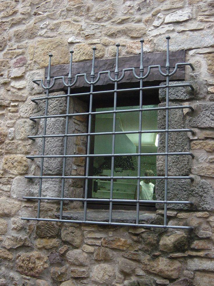 Rejas en forja artesanales rusticas modernas del dise o - Rejas para casas ...