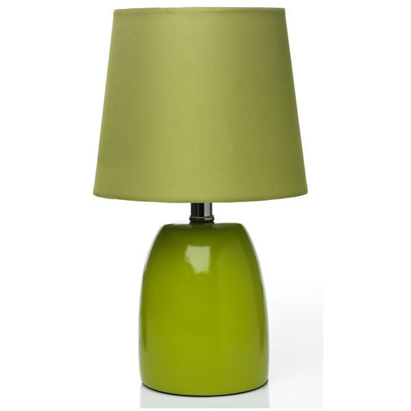 Wilko opus table lamp green 806 liked on polyvore for F k a table lamp