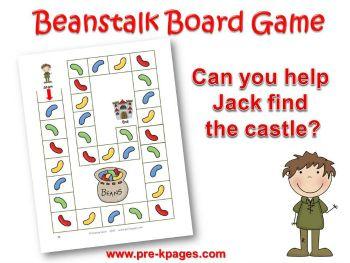 Jack and the Beanstalk Preschool Activities