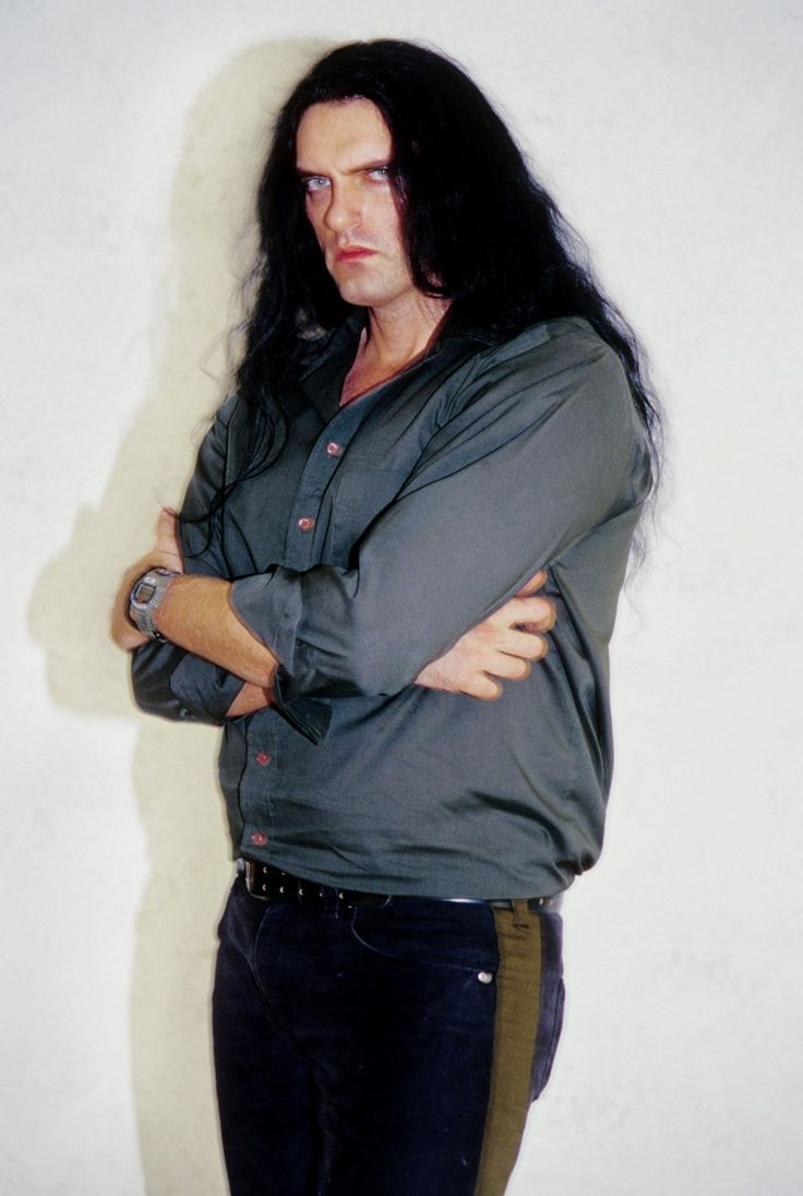 Image detail for -LOS ANGELES - JULY 25: Peter Steele of Heavy Metal band Type O Negative poses for a portrait in Los Angeles, California on July 25, 1999. (Photo by Jim Steinfeldt/Michael Ochs Archives/Getty Images)