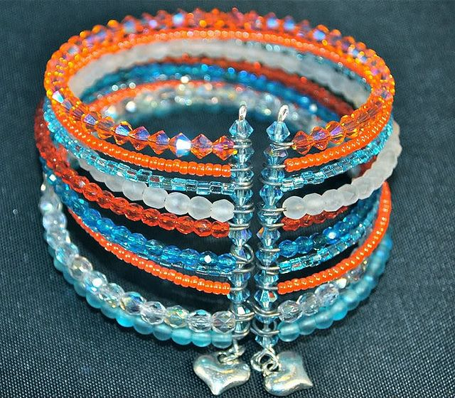 memory wire bracelets | Memory wire cuff bracelet | Flickr - Photo Sharing!