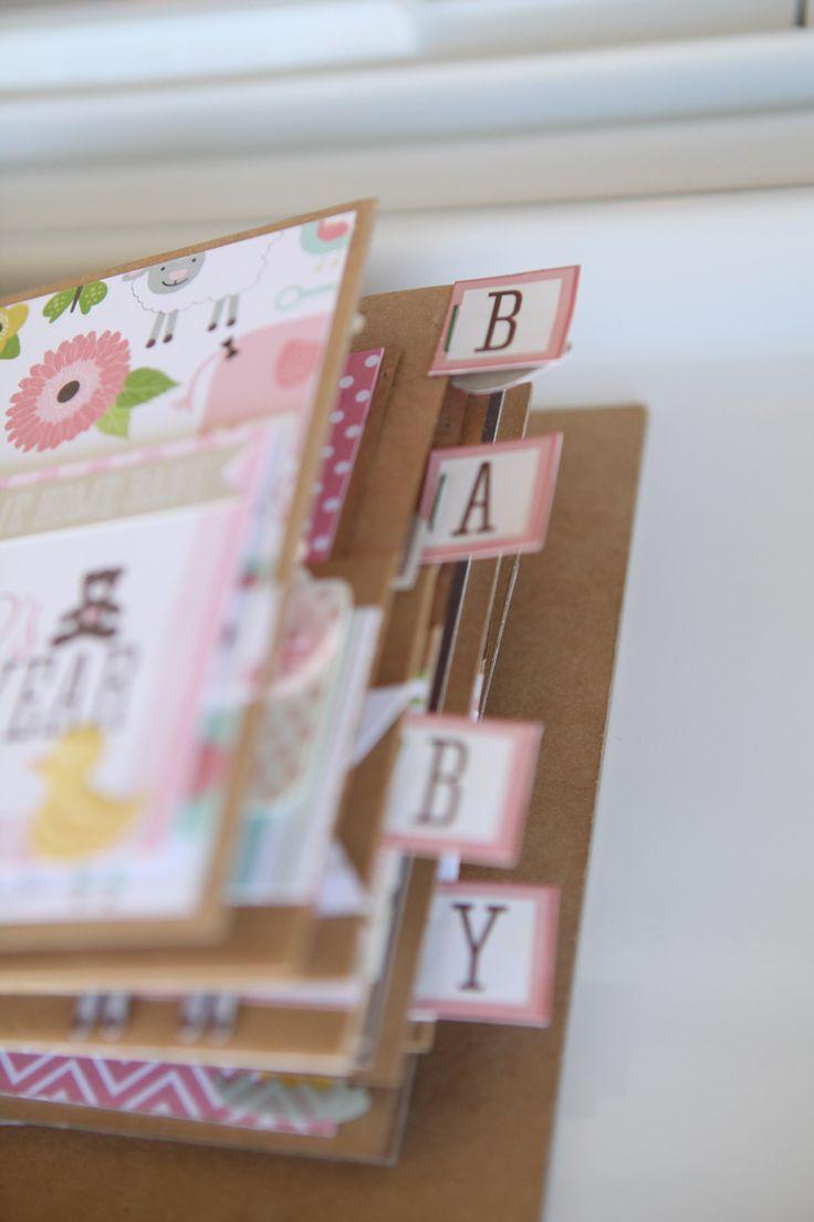 Scrapbook paper echo park - Baby Girl Album Using Echo Park Bundle Of Joy