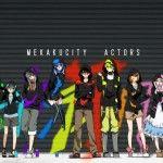 Mekakucity Actors Wallpaper
