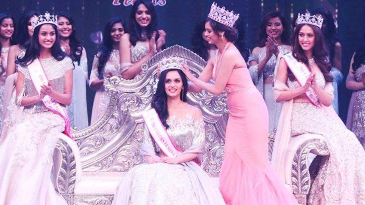 Manushi Chhillar from Haryana bagged the Femina Miss India 2017 title