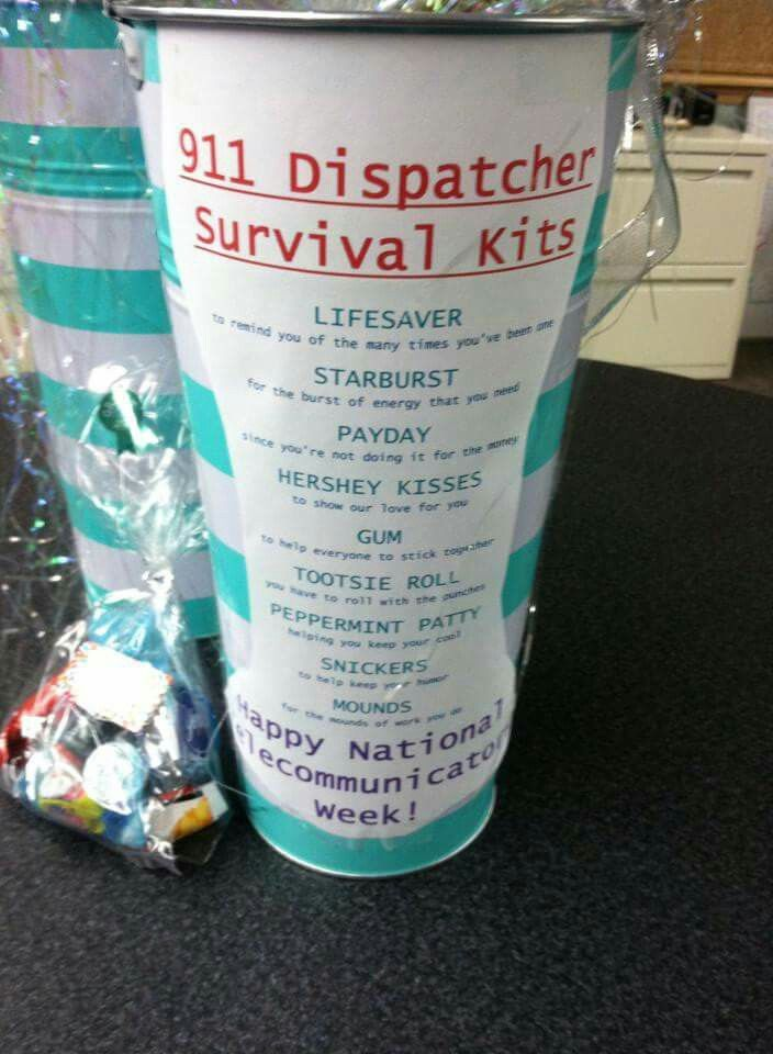 911 Dispatcher gift