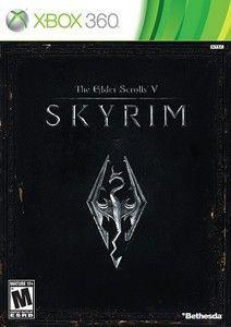 Elder Scrolls V Skyrim - Xbox 360 Game