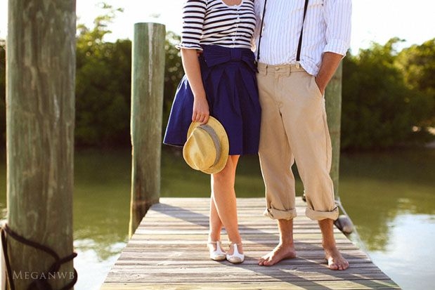 #engagement #outfit #Summer (love the vintage vibe and casual fun feel to these outfits)