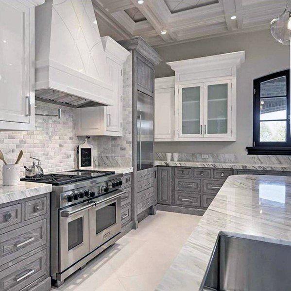 10 Unique Small Kitchen Design Ideas: Top 70 Best Kitchen Cabinet Ideas