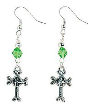 Celtic Cross Earrings (Jennifer R): http://www.outbid.com/auctions/17662-ellens-bazaar-5-29#1