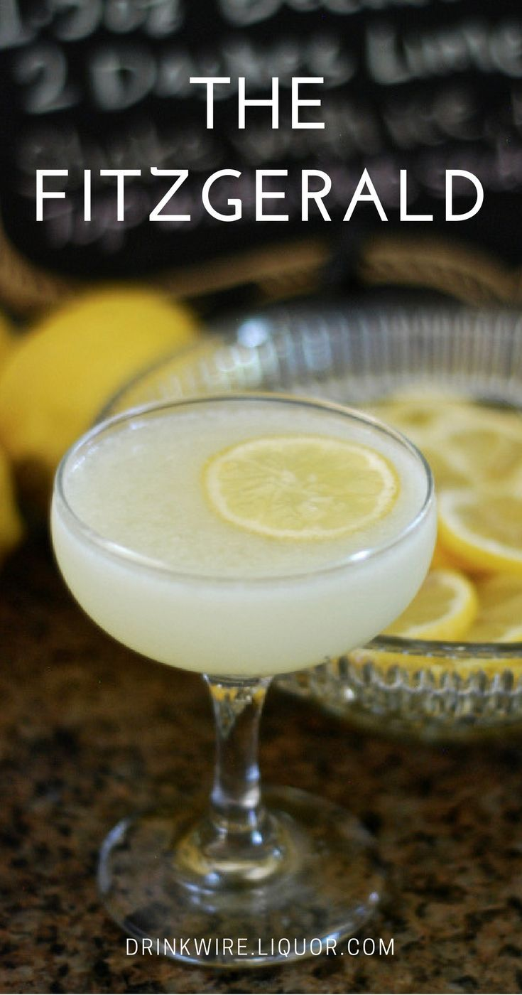 Gin Drinks We Love: The Fitzgerald
