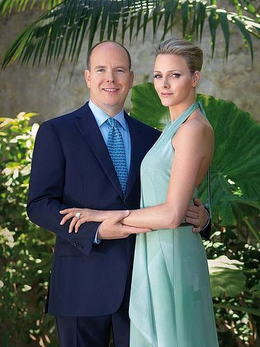 Official Engagement Photos of Prince Albert II of Monaco and Charlene Wittstock: Princess Charlene, Charlene Wittstock, Engagement Photo, Princess, Royals, Royal Family, Wedding, Prince Albert, De Monaco