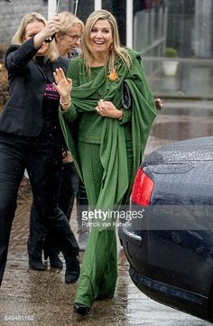 Queen Maxima at Foundation Single Supermom on International Women's Day on March 8 2017 in Amsterdam
