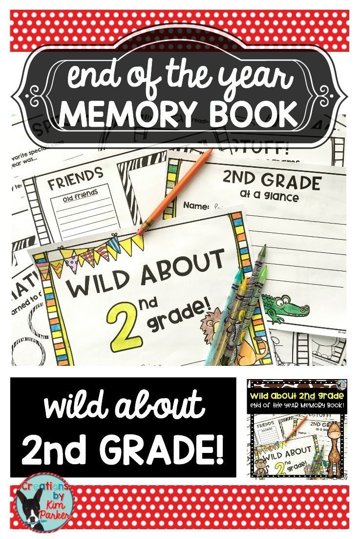 $ Looking for a fun way to reflect on the school year? This wild animal themed booklet will allow students to create an end of the year keepsake. Booklet Includes: Cover  School Year At a Glance Favorites Memories (the thing I will remember most about 2nd grade...) Reading Reflections Math Reflections Friends Recess Memories Specials Memories Field Trips, Programs, Parties Autographs $