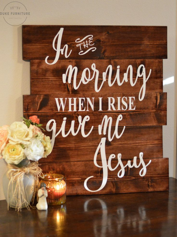 In The Morning When I Rise Give Me Jesus Sign