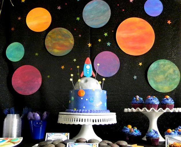 Космический день рождения | http://www.babyroomblog.ru/