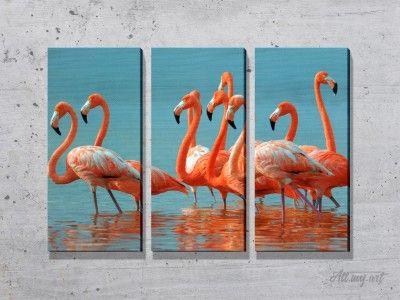 Модульные картины птиц. #картина #модульнаякартина #декор #интерьер #дизайнинтерьера #уют #атмосфера