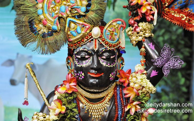 To view Gopal Close Up Wallpaper of ISKCON Chowpatty in difference sizes visit - http://harekrishnawallpapers.com/sri-gopal-close-up-wallpaper-008/