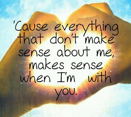 Hunter Hayes quote- he's a GREAT singer and this song is unbelievably sweet!!!!