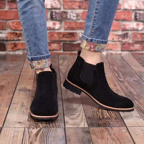 Suede Chelsea Boots (3 Colors)  #TakeClothe #Mensfashion #Fashion #Streetstyle #Shoes