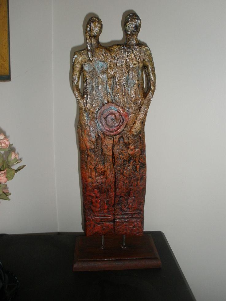 Hermosa escultura.