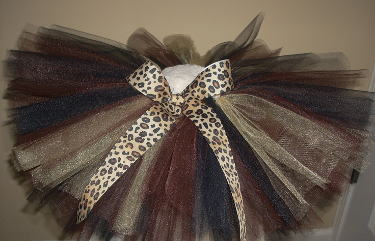 Leopard Tutu for your little Diva
