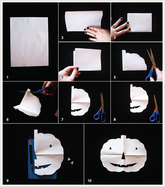 DIY: paper pumpkin