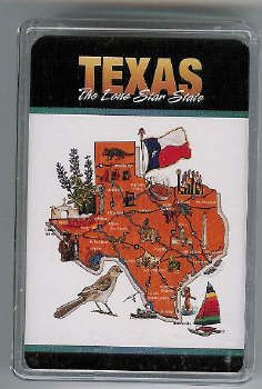 TEXAS Lone Star State playing cards: Playing Cards, Plays Cards