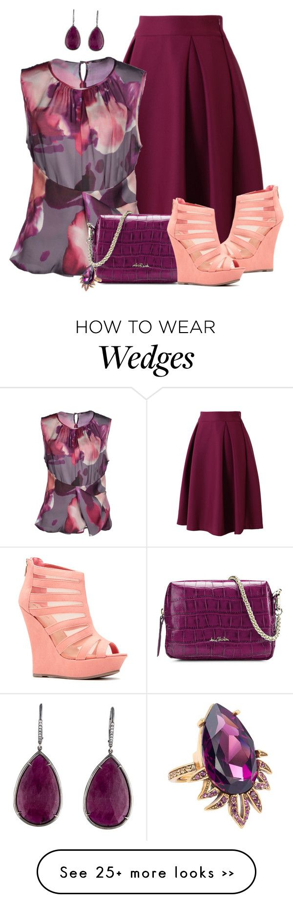 """Untitled #1704"" by jackaford-bittick on Polyvore featuring Chicwish, Malloni…"