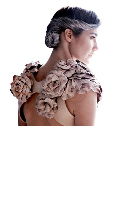 Cow-nipple dress by Rachel Freire.. very interesting..