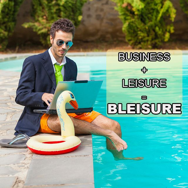 Business + leisure = #Bleisure Find out what this #traveltrend is all about http://bit.ly/20RrjKn #KZNSouthCoast