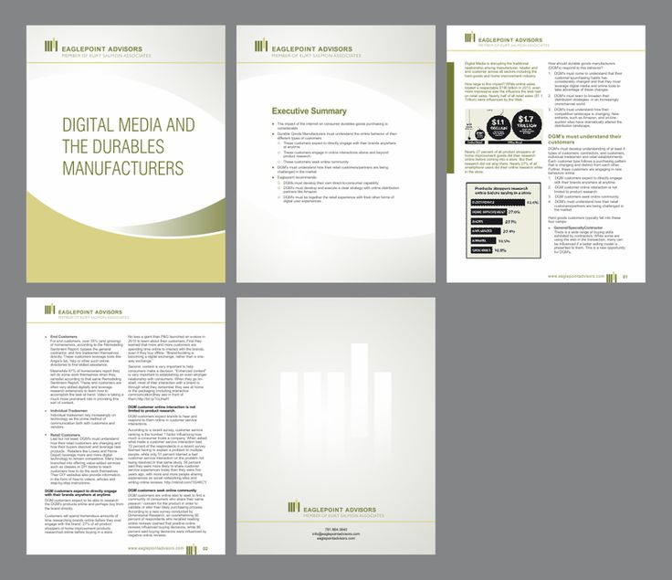New MS Word Template Design For a White Paper by nng
