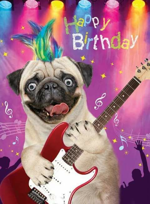 Dog Wishing You A Happy Birthday