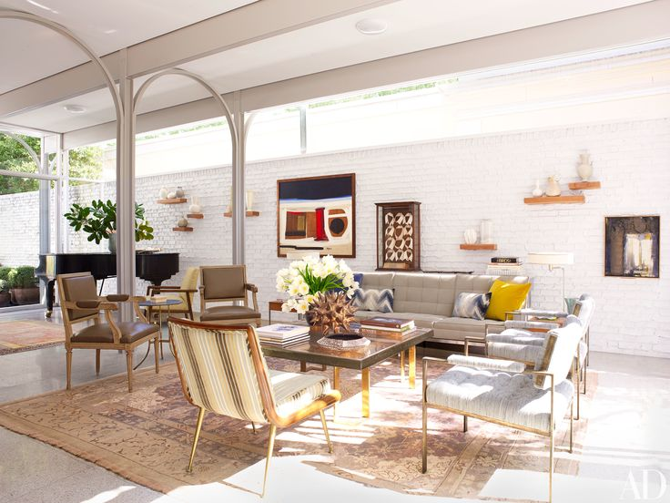 31 Living Room Ideas from the Homes of Top Designers Photos   Architectural Digest