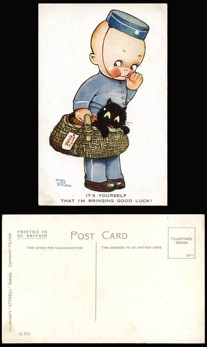71 best Mabel Lucie Attwell - Luck images on Pinterest Postcards - k che bei ebay