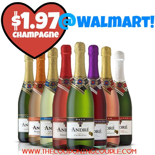 HOT HOT RARE DEAL! *HOT* Andre Champagne Deal @ Walmart ~ Only $1.97!  Click the link below to get all of the details ► http://www.thecouponingcouple.com/hot-andre-champagne-deal-walmart-only-1-97/ #Coupons #Couponing #CouponCommunity  Visit us at http://www.thecouponingcouple.com for more great posts!