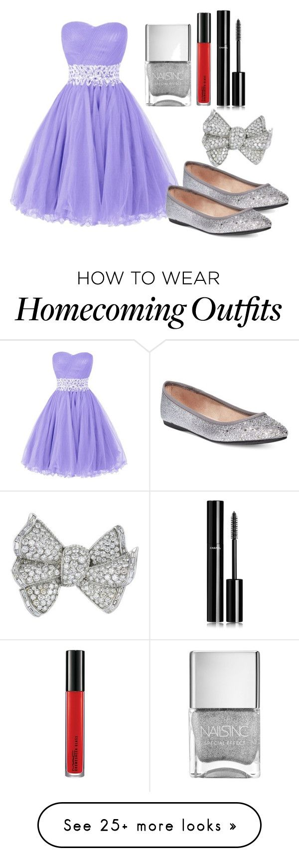 """""""Outfit #492"""" by ivanna1920 on Polyvore featuring Style & Co., MAC Cosmetics and Chanel"""