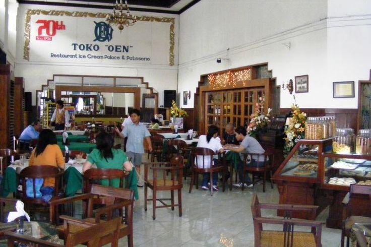 Toko legendaris di Malang -  Es Krim Legendaris di Toko Oen