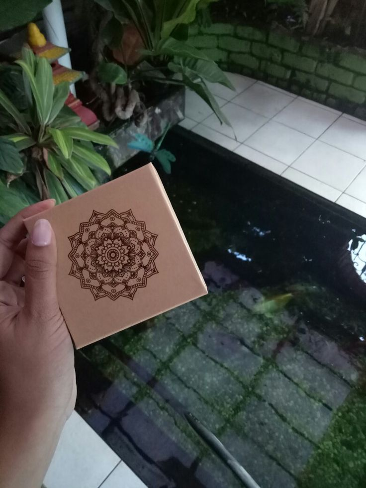 Zen #Mandala #KoiPond