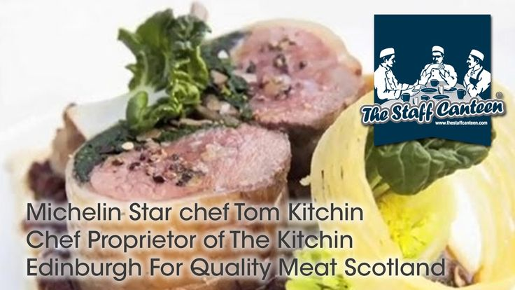 Michelin Star chef Tom Kitchin Chef Proprietor of The Kitchin Edinburgh ...
