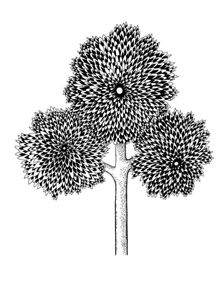 Tree re made by Sasha Tugolukova