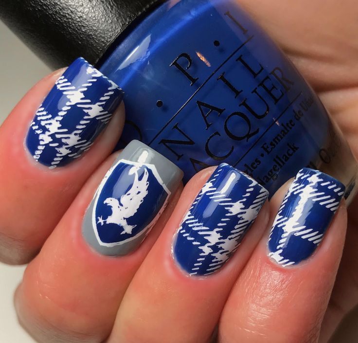 Dahlia Nails Ravenclaw Nail Art: 670 Best Images About Nails By An OPI Addict On Pinterest