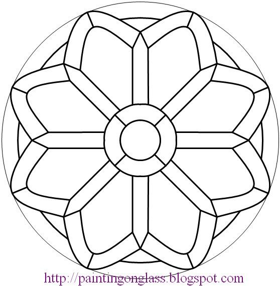 ۝ Mandalas ۝ >>> Circular doodles to practice digitizing with.