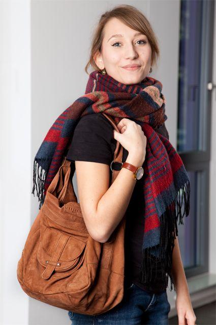 Noch ein Liebeskind Berlin Fan! Die kuschelige Tasche aus Nubukleder war Liebe auf den ersten Blick!