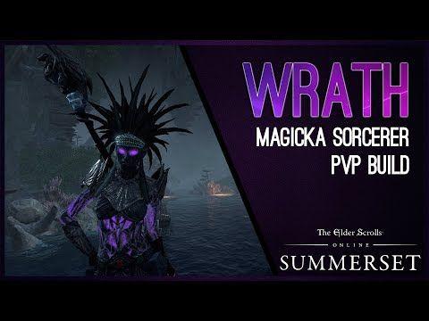 Magicka Sorcerer Build PVP