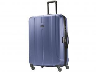 Mala de Viagem Samsonite Fiero Spinner Expansiva - Grande com cadeado TSA - Azul