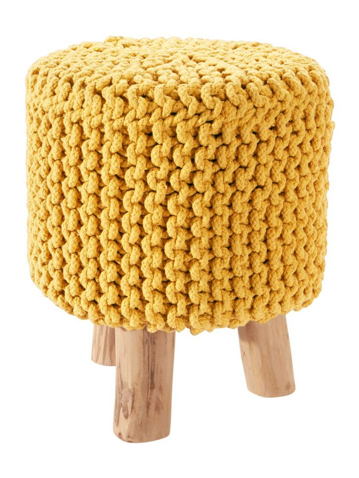 escarpins pouf jaune pouf et moutarde. Black Bedroom Furniture Sets. Home Design Ideas